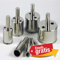 Mega Kit 13 Brocas Para Vidrio, Taladro, Ceramica, Azulejos.