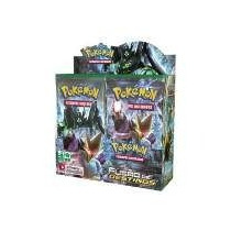 Caixa Booster Box- Pokémon Xy10 - Fusão De Destinos-lacrado