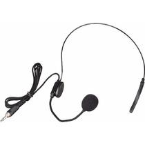 Microfono Vincha Mini Plug Para Sistema Inalambrico Uhf-vhf