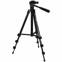 Tripe Preto Universal 1.37mt Camera Filmadora Telescopio