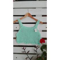 Top Tejido Crochet