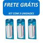 Refil Filtro Purificador De Água Latina Original - Kit Com 3