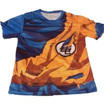 Playera Goku Dragon Ball Crossfit Compresión Gym Crossfit