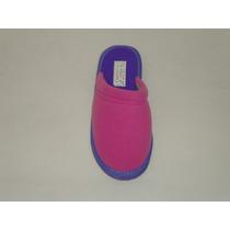 Chinelas De Polar Combinada Fuxia/violeta