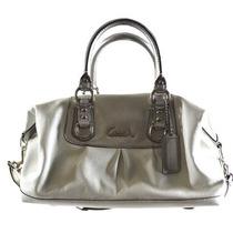 Bolsa Coach Leather Ashley Convertiable Duffle Bag Femenino