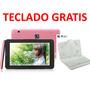 Tablet 7,teléfono,+teclado 8 Gb Android 4.2 Cámara Irulu