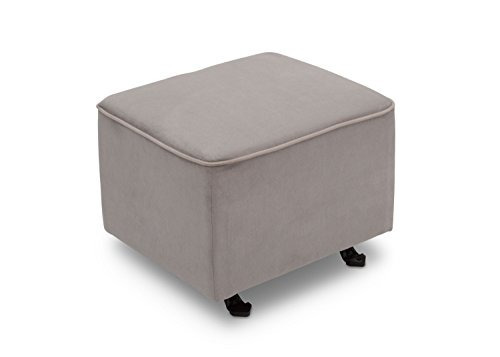 Delta Furniture Otomana Deslizante, Dove Grey Con Soft Welt ...