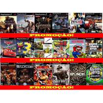 Gta San Andreas Play 2 (kit 18 Jogos Ps2 A Sua Escolha