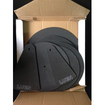 Pele Kit De Abafadores Luen 12 13 14 16 Hi Hat Chimbal Ride