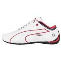 Tenis Puma Future Cat M1 Bmw Blanco/rojo Caballero