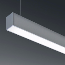 Lampara Colgante Led Lineal Aluminio 36w Minimalista 118 Cm