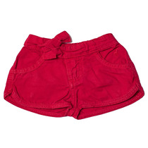 Shorts Jeans Infantil Feminino Vermelho Tamanho 02 - Toffee