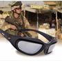 Oculos De Sol Tatico Militar Daysi C5 Desert C/ 4 Lentes