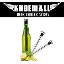 Kobemall Cerveza Chiller Sticks Enfriador (2pc)