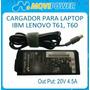 Cargador Movipower Para Lenovo 20v 4.5a - Punta 8.0 X 6.4mm