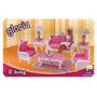 Gloria El Living Accesorios Casa Muñecas Barbie