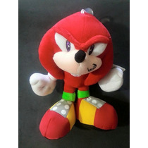 Peluche Sonic Knuckles 23 Cm