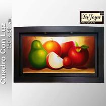Cuadros Decorativos Frutales Y Abstractos Con Luz