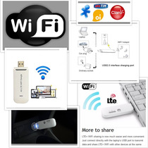 Ultra Compact Mini Modem 4g Roteador Wifi Oi Tim Vivo Claro