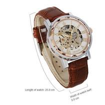 Reloj Orikana Tipo Esqueleto, Numero Romano De Cuerda.