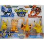Bonecos Pokemon-brinquedo Pokemon Coleção 4 Pokemons Picachu