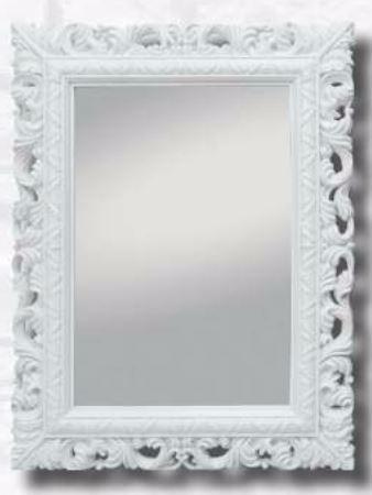 Espejo,rectangular,biselado Marco Blanco,94cm X73cm - $ 32.900 en ...