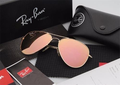d2b637baf8203 Óculos Rayban Top Aviador 3025 3026 Original Feminino Mascul - R  340,80 em  Mercado Livre
