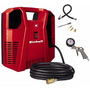 Compresor Aire Einhell 1.5hp S/aceite Inflador Portatil+kit