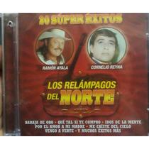Cd Los Relampagos Del Norte 20 Super Exitos