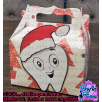 50 Cajitas Dentista Odontologos Navidad Con Mini Bombones