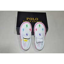 Tênis Infantil Polo Ralph Lauren - 100% Original - Novo