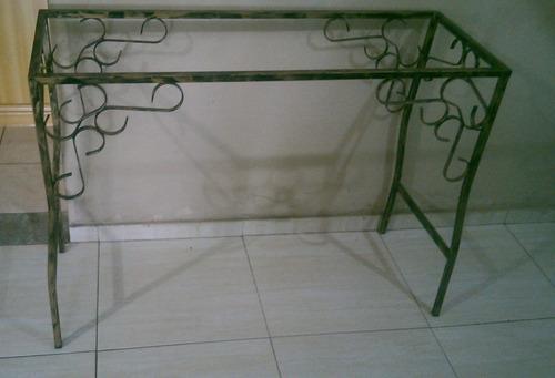 Artesanato Argila Passo A Passo ~ Aparador Artesanal Em Ferro R$ 349,00 em Mercado Livre