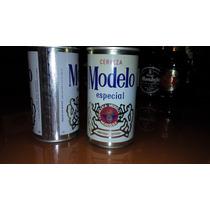 Latas Antiguas De Cerveza Modelo