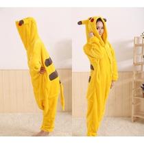 Pijama Import Macacao Adulto - Pikachu - Prazo 30 A 60 Dias