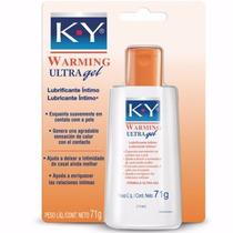 Lubrificante Íntimo Ky Ultra Gel 71g Esquenta Suavemente