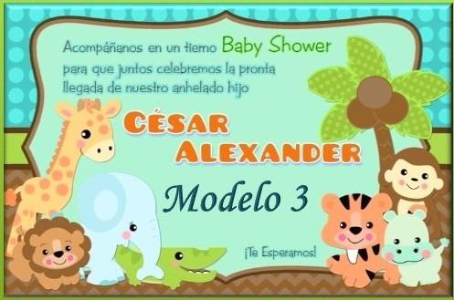 Invitacion Tarjeta Baby Shower Boda Quinceanos Cumpleanos Bs 0 05
