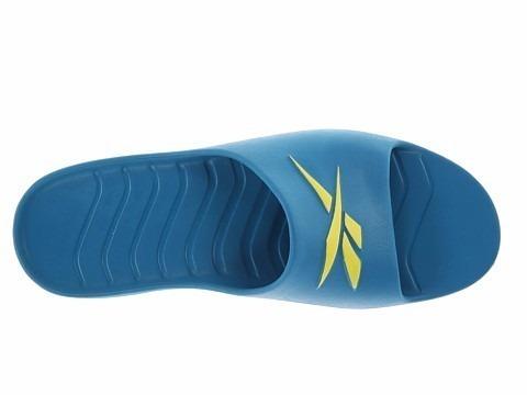 a0e2a70e2ab Chinelo Sandália Reebok Kobo Azul Original - R  66