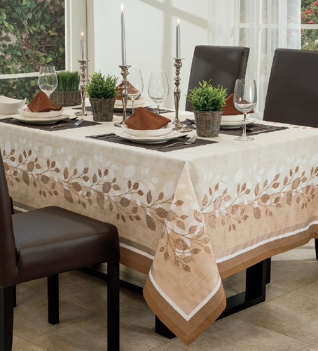 Mantel para comedor rectangular cairo vianney envio gratis - Manteles mesas grandes ...