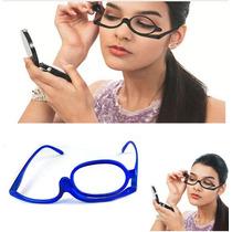 Óculos De Grau Com Lente Móvel P/ Auto-maquiagem Aumenta+3.5