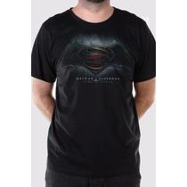 Camiseta Masculina Batman Vs Superman Dawn Of Justice Bandup