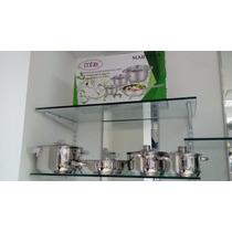 Ollas De Inducción Eléctricas O Gas Marca Mtx 7 Piezas