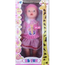 Muñeca Que Crece Al Tomar Tetero