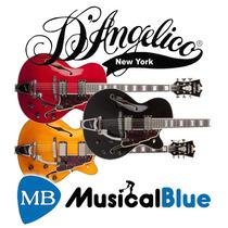 Guitarra Electrica Dangelico Simple Corte C/estuche Daex 175