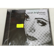 Cd Sarah Brightman Encore Nuevo + Cd De Regalo