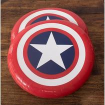 Capitán América Minilego + Frisbie Escudo