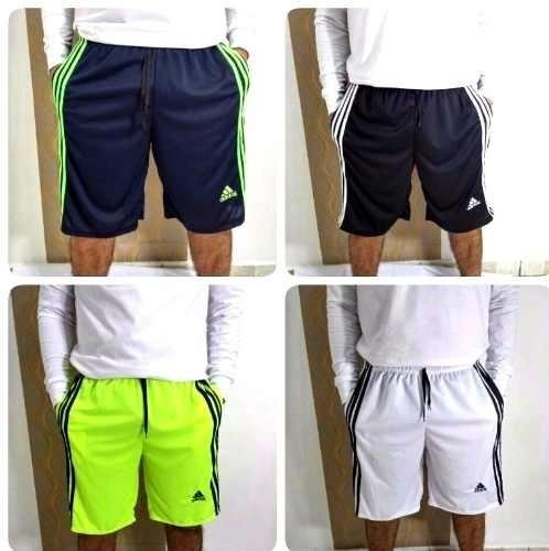 aa86a740df Kit 40 Bermuda Esportes Várias Cores Treino Futebol Revenda - R  598 ...