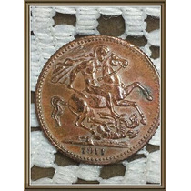 Moneda Token Inglaterra Eduardus Vii 1911 Ref P5/8