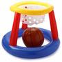 Juego Baloncesto Inflable Gigante + Pelota Basket 56506 Inte