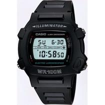 Relógio Casio W-740-1vs Illuminator. Garantia Casio Br