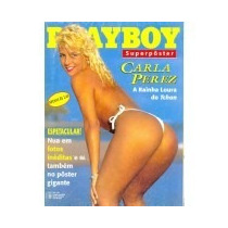 Revista Playboy Superposter Carla Perez 258 A